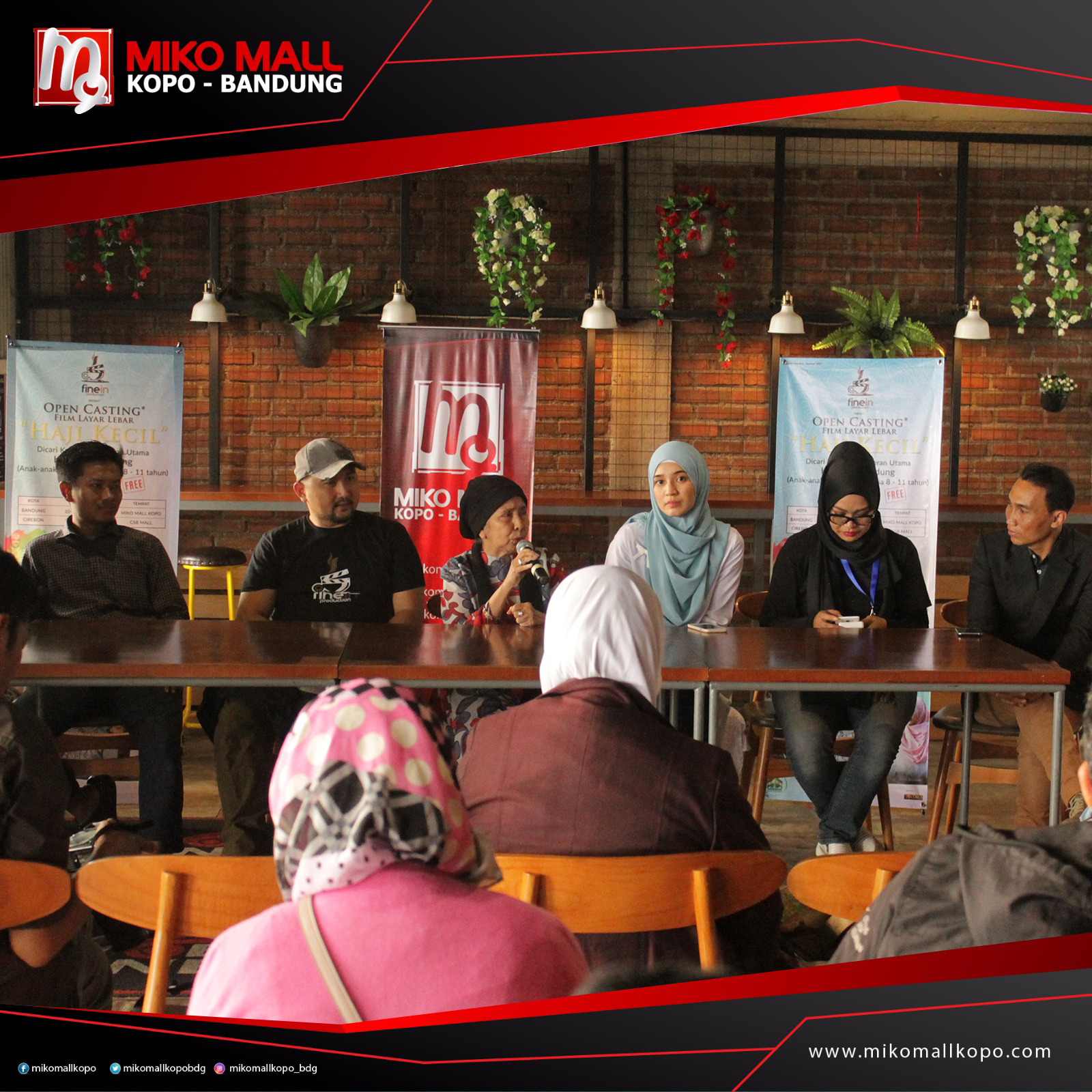 Footage Open Casting 40 Days in Europe (Bandung ...