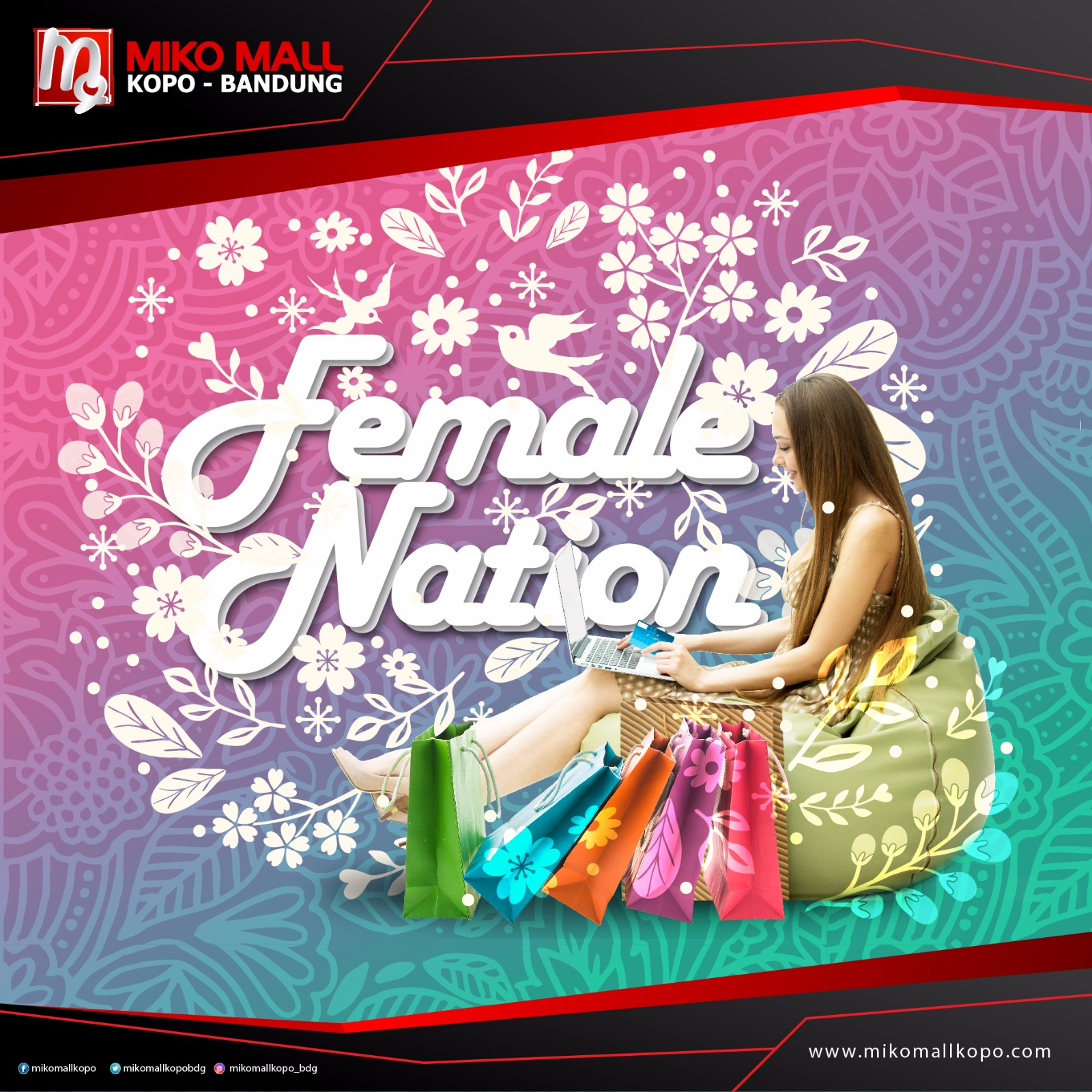 FEMALE NATION at MIKO MALL