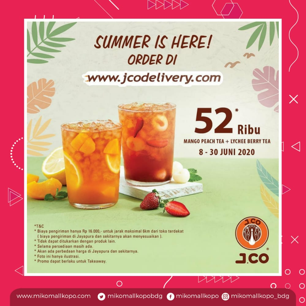 J.CO – SUMMER IS HERE