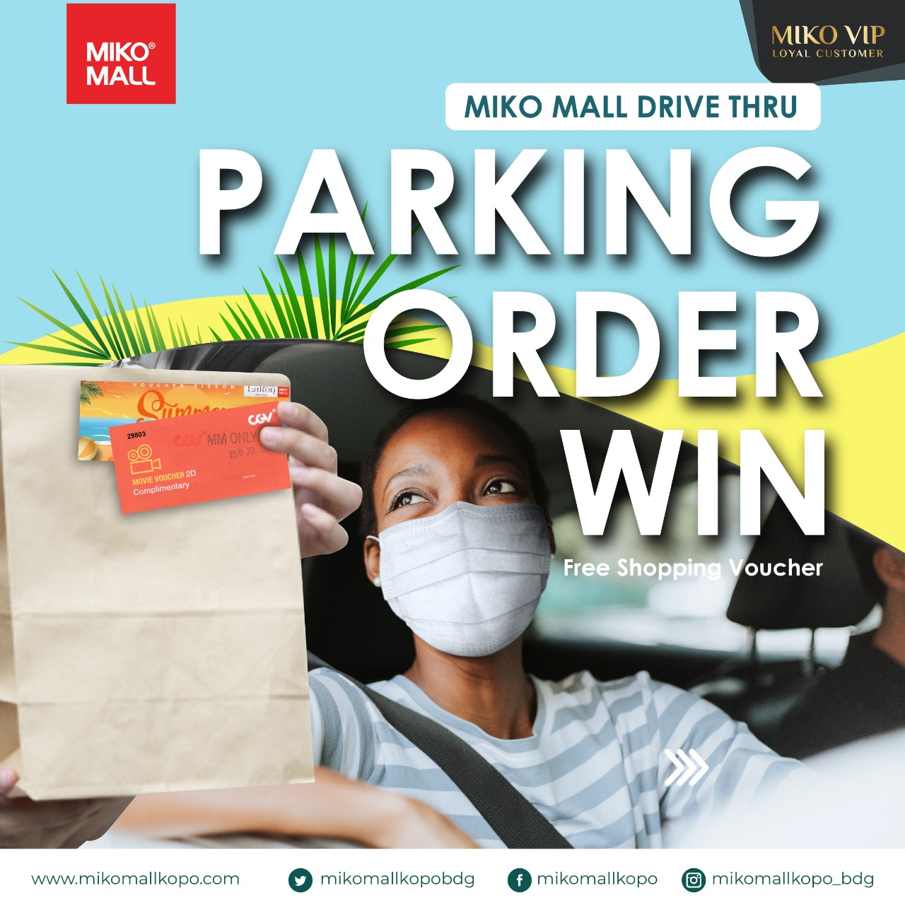 PARKING, ORDER AND WIN